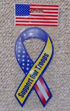 Support Our Troops Magnetic Ribbon Kitchen 1999
