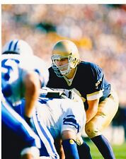 RICK MIRER 1992 NOTRE DAME SEATTLE SEAHAWKS JETS PACKERS NFL  8 X 10 PHOTO 1