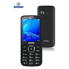 "TELEFONO CELLULARE BRONDI DUKE S DUAL SIM 2.4"" NERO - GARANZIA ITALIA 24 MESI"