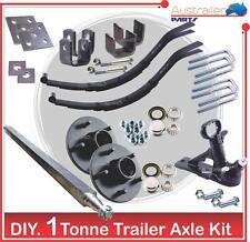 DIY trailer 1000 kg  kit 40MM Square Axle Trailer Parts KIT 1 Tonne