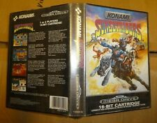 Sega Sunset Riders with  Konami Case  Boxed Cart Very good Megadrive