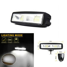6 Inch 48W Offroad 4WD SUV ATV LED Flood Beam Work Light Bar Fog Lamp Waterproof