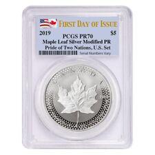 First Strike 2018 Canada 1 oz Silver Maple Leaf MS-69 PCGS T161356