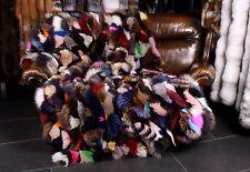 1307 fuchseiten pelzdecke Multicolore VERITABLE FOURRURE SYNTHETIQUE Plaid echtfell Couverture de jour