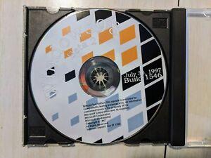 Vintage Microsoft Windows 98 Beta 2 Build 1546 CD RARE