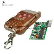 4 channel IC2262/2272 433MHZ wireless remote control kits 4 key wireless remote