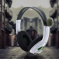 Gamer Headphone Headset Usb Dual Earphone Headband Mic Stereo Bass For Ps3 Pc