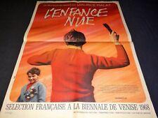 L' ENFANCE NUE maurice pialat Michel Tarrazon affiche cinema 1968