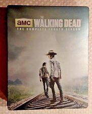 WALKING DEAD Steelbook Blu-Ray The Complete 4th Season 5-disc set