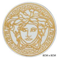 Medusa Head Special Sew on Iron on Embroidered Patch Badge For Clothes Bags etc