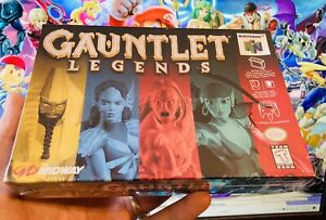 Gauntlet Legends N64 Nintendo 64 AUTHENTIC New Factory Sealed USA / CAN Version