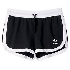 adidas Originals Shorts Damen Sports Trousers Yoga Pants 36 Black AJ8853 Running Short
