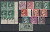 O3977/ FRANCE - PRECANCELLED – SEMI MODERN LOT