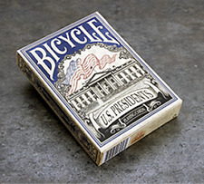 Bicycle US Presidents Playing Cards (Blue Collector Edition) by Collectable Play