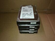 - LOT OF 4 HP HUS153030VLS300 300GB SAS HARD DRIVE HP P/N:466034-001 FW:HPH1