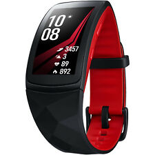 SAMSUNG  Gear Fit2 Pro Smartwatch Silikon, L, Rot
