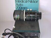 Nikon Medical-Nikkor 200mm 1:5,6 Teleobjetivo Macro