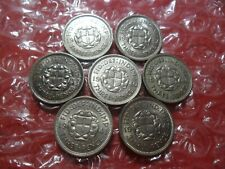 More details for small collection of george vi silver threepences - 7 coins.