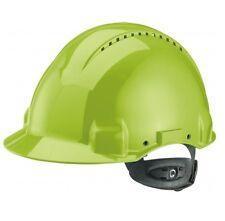 3M Peltor Schutzhelm Bauhelm Bauschutzhelm G3000N ABS Ratschensystem neongrün