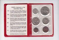 1974 Royal Australian Mint Coin Set UNC Uncirculated F-53
