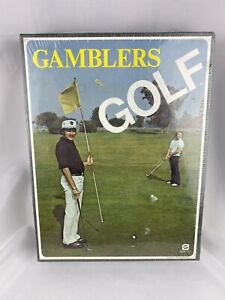 1975 Gamblers Golf Style #31 Gammon Board Game Vintage New In Box Sealed