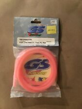 GS Racing fuel line (med) 3' Tran FL Red GS 24553TFR