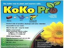 KoKo Pro 1.4 lb. Condensed Coconut Fiber Potting Soil
