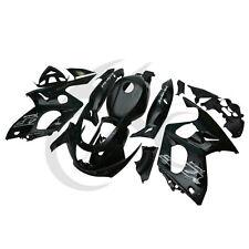 Black Hand made Bodywork ABS Plastic Fairing Set For Yamaha YZF600 YZF600R 97-07