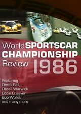 World Sportscar Championship Review 1986 (New DVD)  Le Mans Silverstone Spa