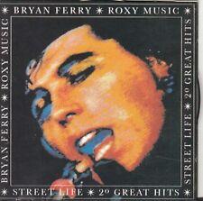BRYAN FERRY / Roxy Music - Streetlife - 20 Greatest Hits CD