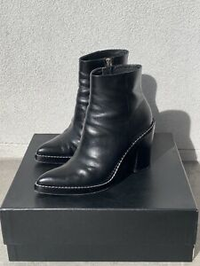 Alexander Wang Kelly Boots — 38.5 — Genuine Black Leather