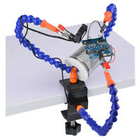 1 Set Third Helping Hands Tool Flexible 3 Arms Soldering PCB Holder Desk Clamp