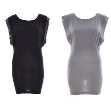 Short/Mini Sleeveless Viscose Stretch, Bodycon Women's Dresses