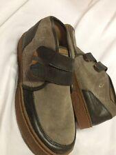 Men's Olukai Kaha Boot Size 9 ,Dark Brown/Beige.EUR SIZE 42