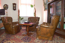 Vintage Braun Sessel Leder Retro Clubsessel Wohnzimmer Cocktailsessel Möbel Amazing Ideas