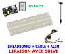 ARDUINO MB102 plaque d'essais prototype 830 points breadboard PCB + Power Module