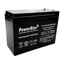 12V 10AH 2 Pack - HD SLA Battery replaces Electric Scooter Schwinn S180 / S500