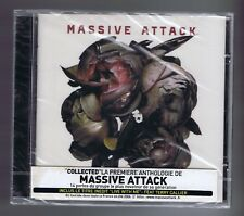MASSIVE ATTACK CD (NEW) COLLECTED INCLUS LIVE WITH ME (STICKER)
