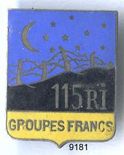 9181 - INFANTERIE  - 115e RI