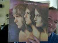 "TRILOGY  12"" VINYL EMERSON LAKE & PALMER GREAT XMAS GIFT FREE UK POST"