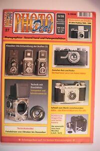 PHOTO DEAL Photodeal 27 Altix Fuji Wolfen Miroflex Viscawide Miniatur Zeiss Ikon