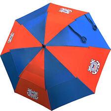 "Hot-Z Golf US Military Coast Guard 62"" Double Canopy Umbrella"