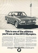 1971 BMW 2800 1972 Olympics Original Advertisement Print Art Car Ad J811