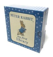 Beatrix Potter Peter Rabbit: My First Library 4 Board Book Collection Set