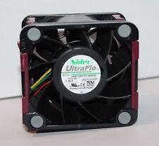 Genuine HP 496066-001 NIDEC UltraFlo 12vdc (2.45a) 60mm Ventola v60e12bs1a7-09a032