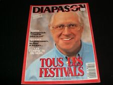 DIAPASON FRENCH MAGAZINE<> JULY 1988  #340 <> MSTISLAV ROSTROPOVITCH