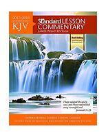 KJV Standard Lesson Commentary® Large Print Edition 2017-2018