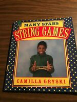 Many Stars String Games by Camilla Gryski Paperback Book