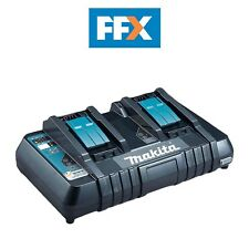 Makita DC18RD 14.4v - 18v LXT Li-ion Twin Port Rapid Battery Charger + USB