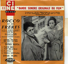 BOF ROCCO ET SES FRERES NINO ROTA FRENCH ORIG EP OST